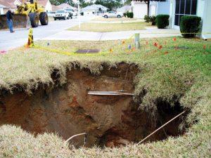 Sinkhole repair